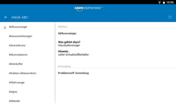 BAWNapp apk screenshot