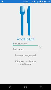 WhatToEat? poster
