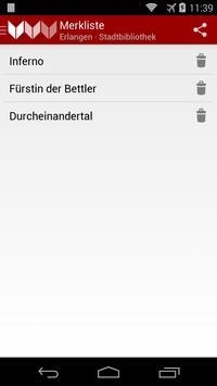 Stadtbibliothek Erlangen apk screenshot