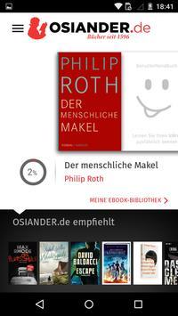 OSIANDER eBooks mit tolino poster