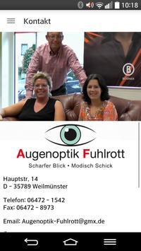 Augenoptik Fuhlrott poster