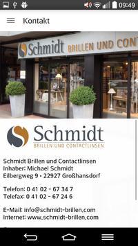 Schmidt Brillen poster
