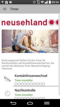Neusehland –Kontaktlinsen-Club Plakat