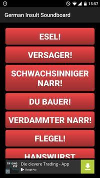 German Insult Soundboard poster