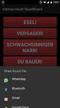 German Insult Soundboard apk screenshot