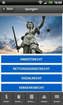 Kanzlei Spengler screenshot 3