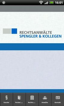 Kanzlei Spengler poster
