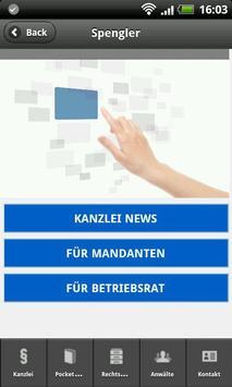 Kanzlei Spengler screenshot 1