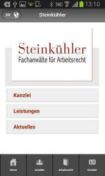 Steinkühler-Arbeitsrecht screenshot 1