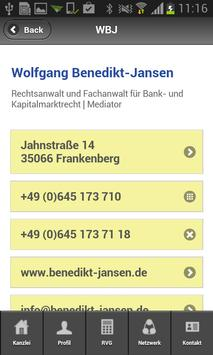 Rechtsanwalt Benedikt-Jansen apk screenshot