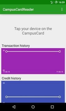 Campus Card Reader poster