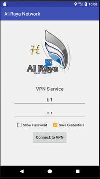 AL-Raya Network VPN poster