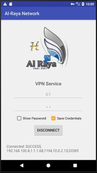 AL-Raya Network VPN screenshot 1