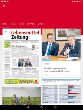 Lebensmittel Zeitung apk screenshot