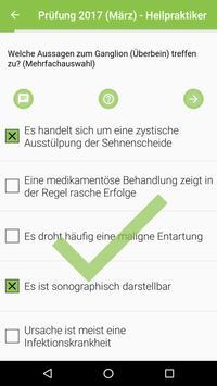 Heilpraktiker Prüfungen apk screenshot