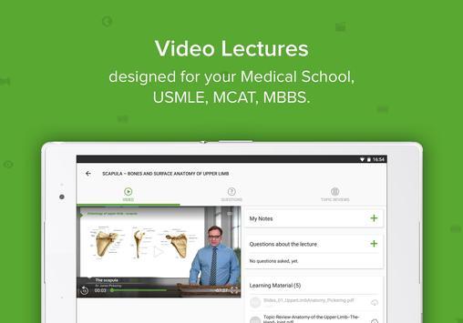 Lecturio USMLE Videos & Qbank (Med School & Board) apk screenshot