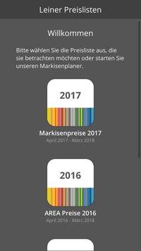 Leiner Preisliste 2.0 poster