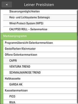 Leiner Preisliste 2.0 apk screenshot