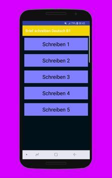 Brief schreiben Deutsch B1 screenshot 3