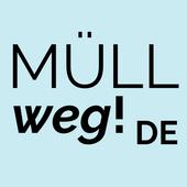 MÜLLweg! DE - Wilde Müllkippen und Müll melden! icon