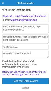 MÜLLweg! DE - Wilde Müllkippen und Müll melden! screenshot 3