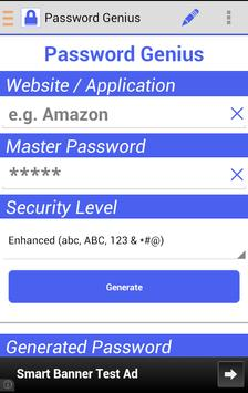 Password Genius poster