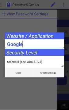 Password Genius screenshot 2