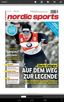 nordic sports magazin - epaper apk screenshot