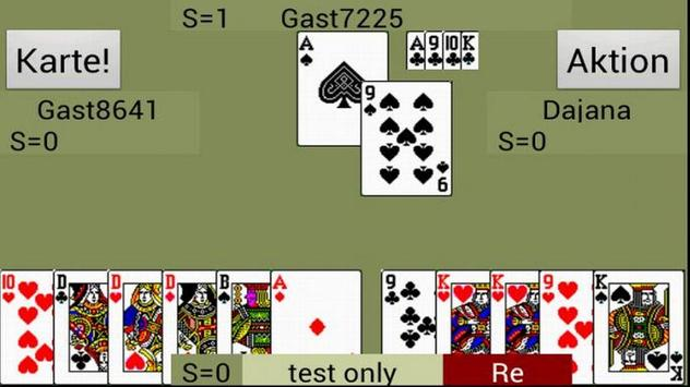 Doppelkopf live-doko screenshot 1