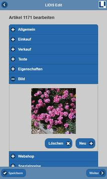 LIDIS Edit screenshot 2