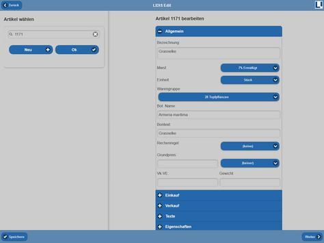 LIDIS Edit screenshot 6