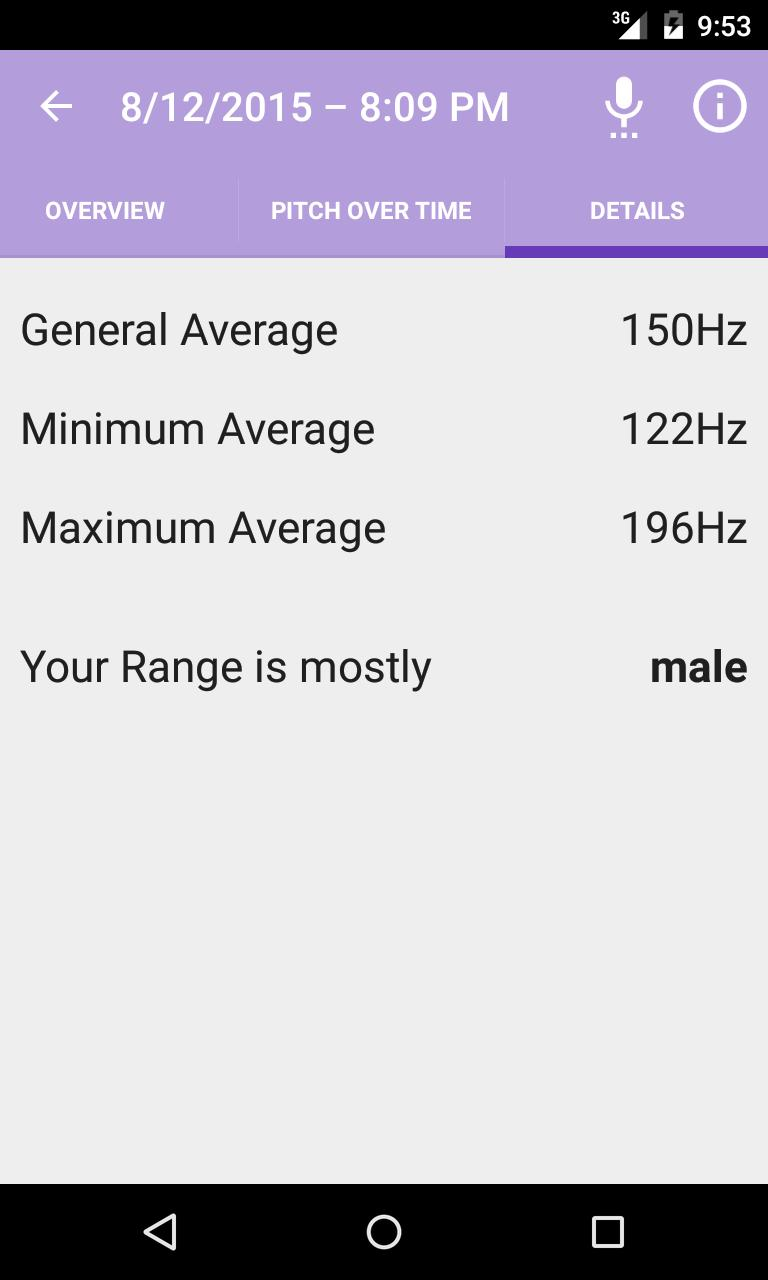 Voice Pitch Analyzer for Android - APK Download