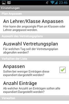 Vertretungsplan CZG Beta apk screenshot