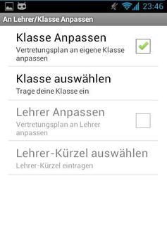 Vertretungsplan CZG Beta apk screenshot