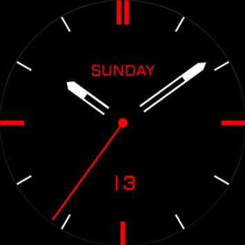 Minimal Watch Face apk screenshot
