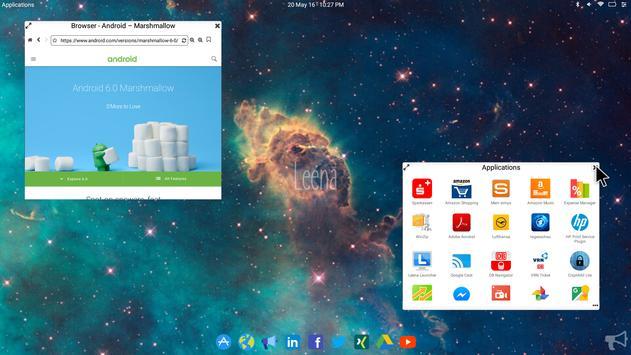 Leena Desktop UI (Multiwindow) screenshot 3