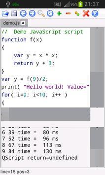 VisiScript Text Editor poster