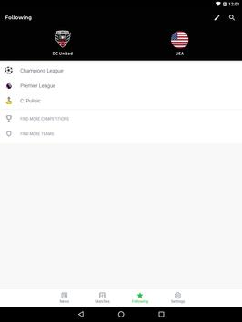 Onefootball screenshot 8