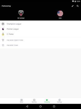 Onefootball captura de pantalla 8