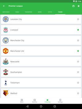 Onefootball captura de pantalla 11
