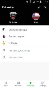 Onefootball - Новости Футбола скриншот приложения