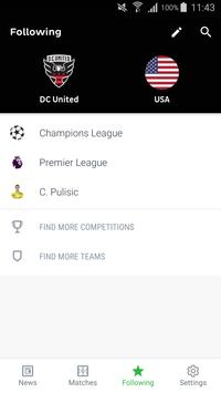 Onefootball captura de pantalla 2