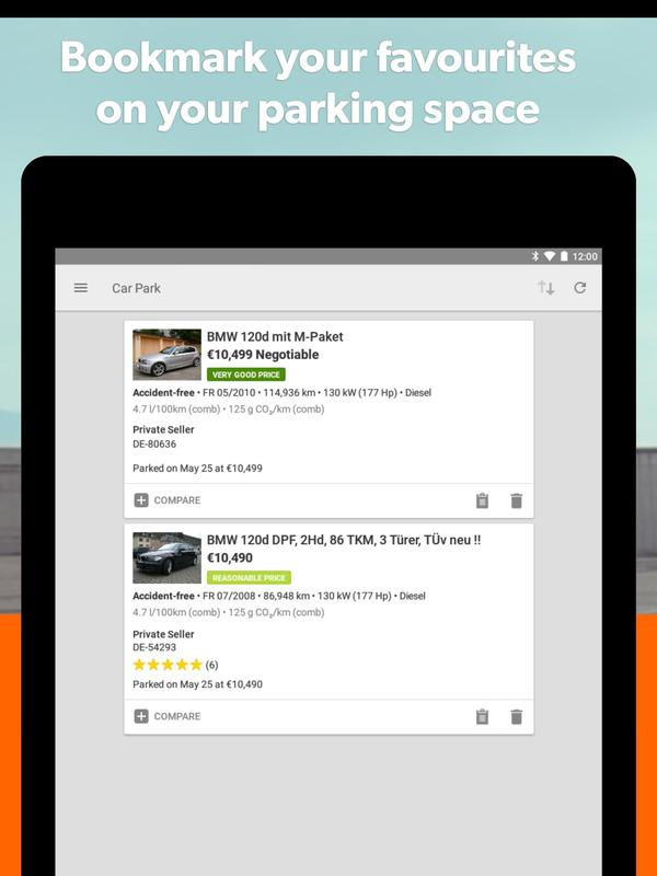 mobile.de app android download