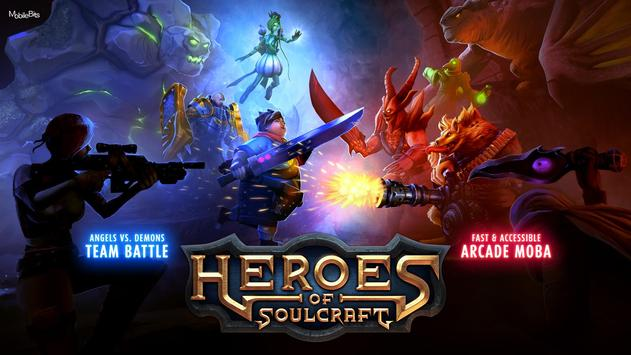 Heroes of SoulCraft - MOBA poster