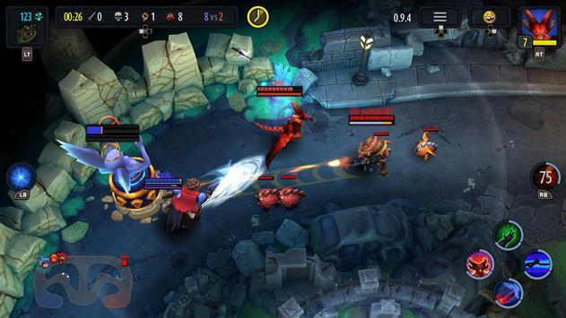 Heroes of SoulCraft - MOBA apk screenshot