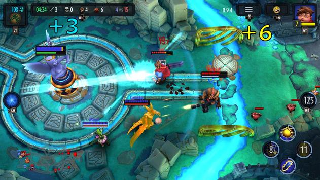 Heroes of SoulCraft - MOBA apk screenshot