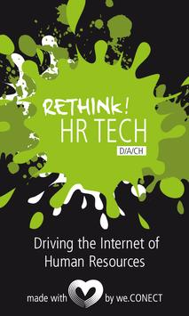 Rethink! HR Tech poster