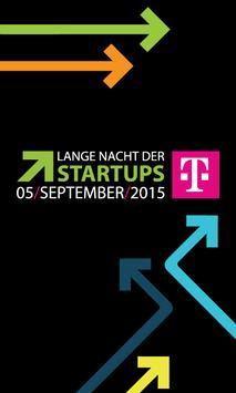 StartupNight 2015 poster