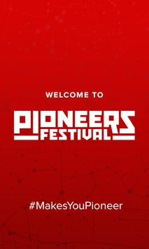 Pioneers Festival 2015 poster