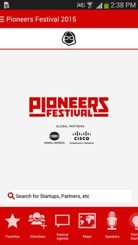 Pioneers Festival 2015 screenshot 1